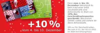 beim kauf einer ikea geschenkkarte satte 10 des wertes gratis dazubekommen sparkralle. Black Bedroom Furniture Sets. Home Design Ideas